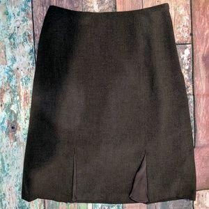 Jones Wear Skirts - Vintage JONES WEAR Stretch Sz. 8 brown skirt